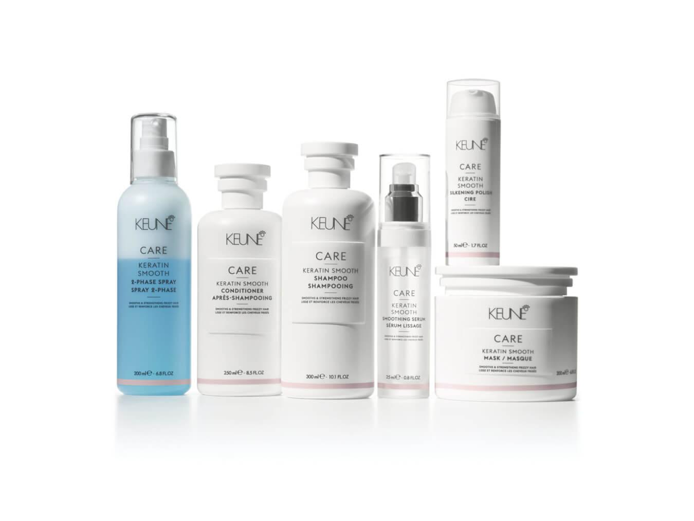 Eine Keratinbehandlung bringt den natürlichen Keratinbaustein zurück in Ihr Haar.