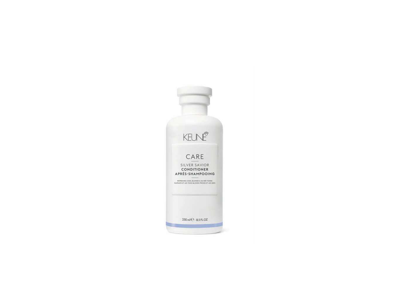 Das Keune Silbershampoo kommt am besten in Kombination mit dem Conditioner zur Geltung.